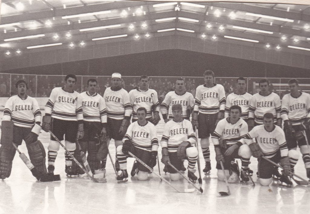1969/1970; twee ijshockeyculturen treffen elkaar